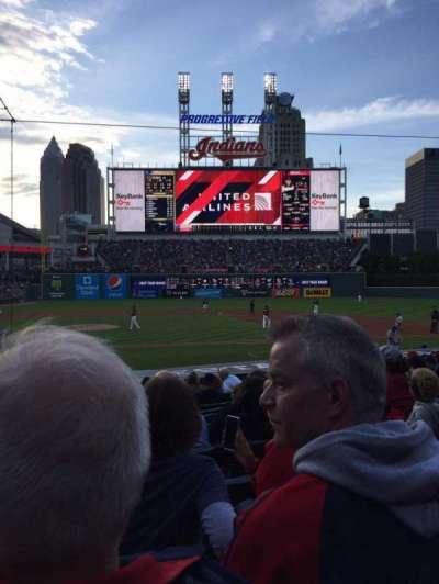 Progressive Field, section: 146, row: R, seat: 10