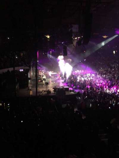 Allstate Arena, section: 204, row: b, seat: 8