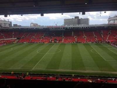 Old Trafford, section: N3416, row: 10, seat: 22