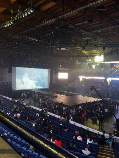Allstate Arena, section: 201, row: A, seat: 3