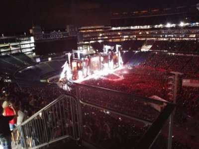Gillette Stadium, section: 305, row: 8, seat: 22
