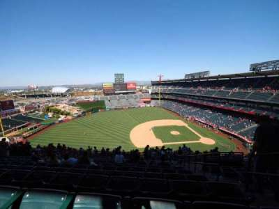 Angel Stadium, section: V512, row: L, seat: 25