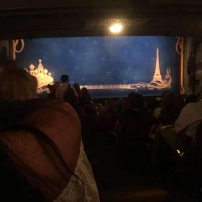 Broadhurst Theatre, section: Orchestra, row: s, seat: 1
