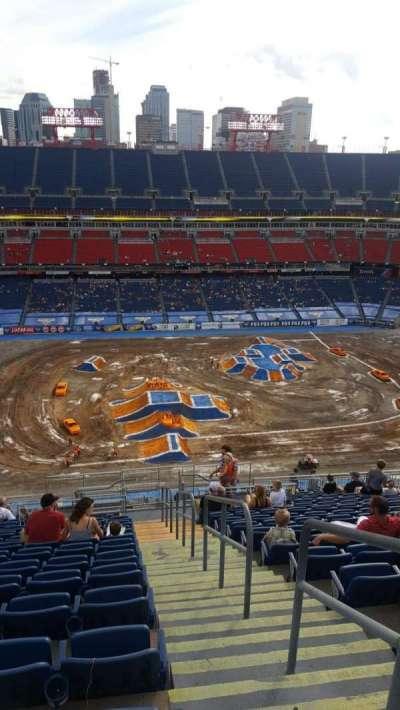 Nissan Stadium, section: 313, row: X, seat: 1