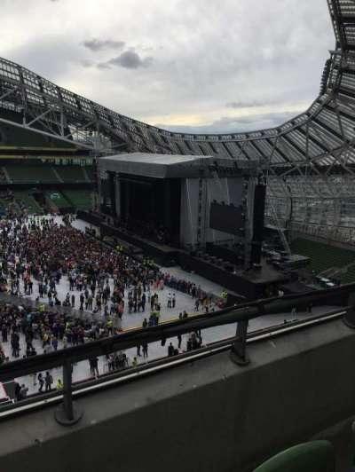 Aviva Stadium, section: 503, row: B, seat: 32