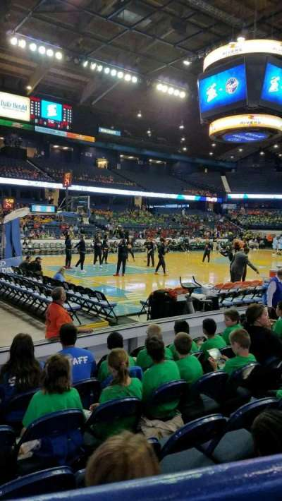 Allstate Arena, section: 112, row: A, seat: 15