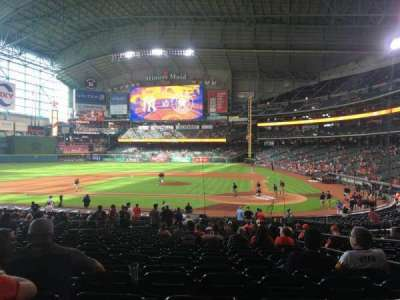 Minute Maid Park, section: 116, row: 31, seat: 13