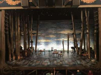 Gerald Schoenfeld Theatre, section: Mezzanine, row: A, seat: 108