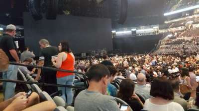 AT&T Center, section: 6, row: 12, seat: 19
