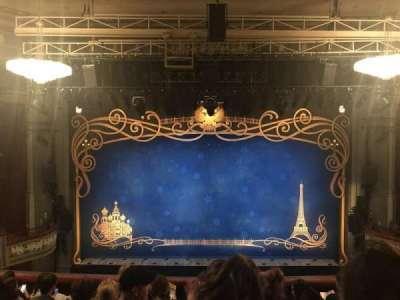 Broadhurst Theatre, section: Center mezzanine, row: G, seat: 108