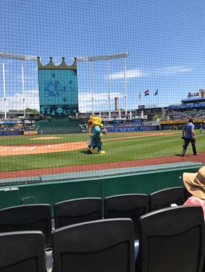 Kauffman Stadium, section: Crown 4, row: 4, seat: 3