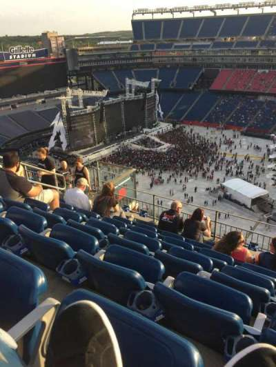 Gillette Stadium, section: 306