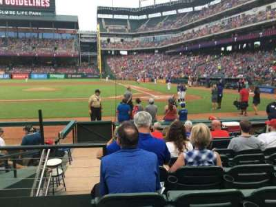 Globe Life Park in Arlington, section: 21, row: 6, seat: 1