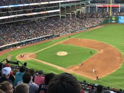 Progressive Field, section: 533, row: K, seat: 12