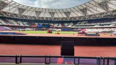 London Stadium, section: 148, row: 3, seat: 655