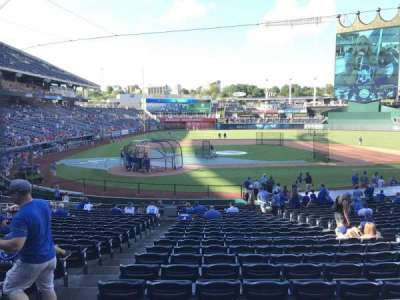 Kauffman Stadium, section: 131, row: W, seat: 1