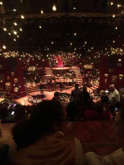 Imperial Theatre, section: Rear Mezzanine, row: F, seat: 110