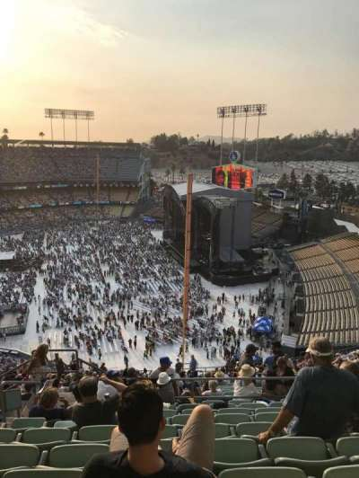 Dodger Stadium, section: 46RS, row: 9