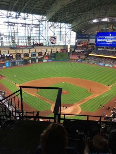 Minute Maid Park, section: 419, row: 3, seat: 1