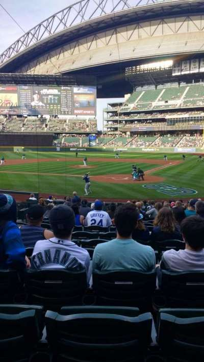 Safeco Field, section: 130