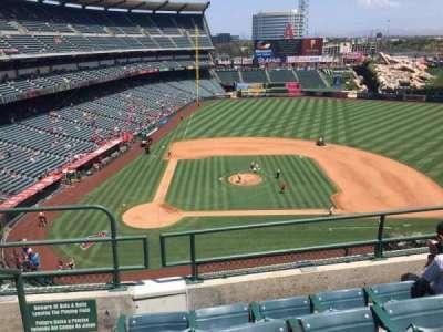 Angel Stadium, section: V424, row: D, seat: 1