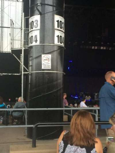 Hollywood Casino Amphitheatre (Tinley Park), section: 205, row: OO, seat: 41