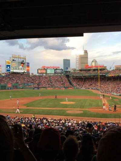 Fenway Park, section: Grandstand 24, row: 11, seat: 19