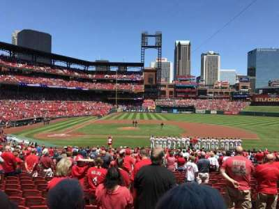 Busch Stadium, section: 145, row: 21, seat: 12
