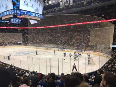 Air Canada Centre, section: 116A, row: 17, seat: 3