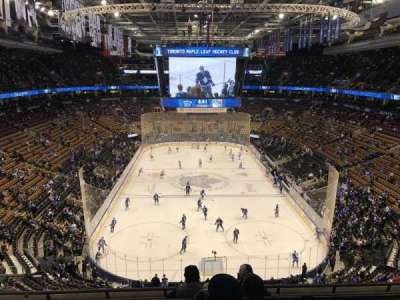 Air Canada Centre, section: 303, row: 6, seat: 13