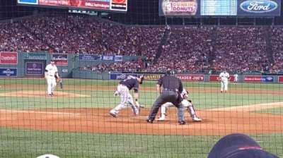 Fenway Park, section: Field Box 47, row: C, seat: 3 and 4