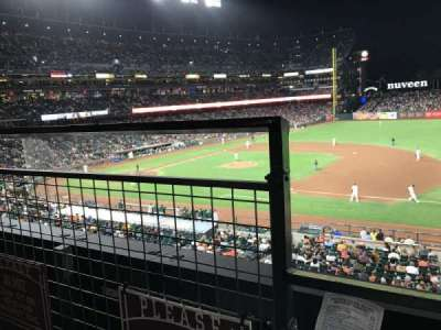 AT&T Park section 205