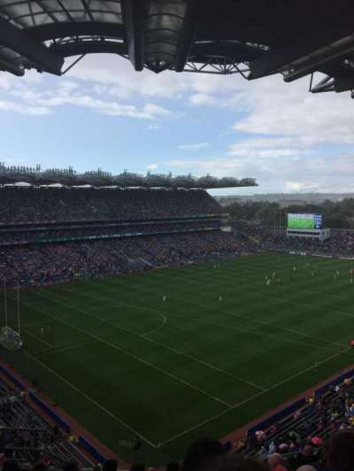 Croke Park, section: 714, row: O, seat: 9