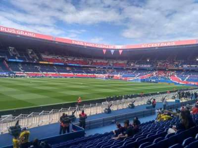 Parc des Princes, section: 103, row: 10, seat: 38