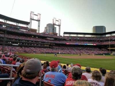 Busch Stadium, section: 138D, row: H, seat: 4