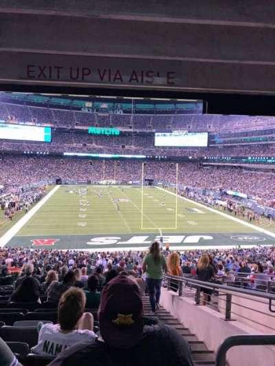 MetLife Stadium, section: 103, row: 26, seat: 4