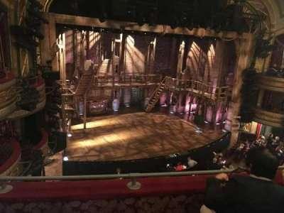 Richard Rodgers Theatre, section: Left Mezzanine, row: C, seat: 19