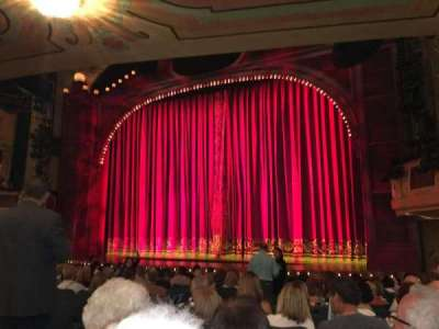 Shubert Theatre, section: Orchestra, row: O, seat: 10