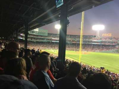 Fenway Park, section: Grandstand 5, row: 05, seat: 20