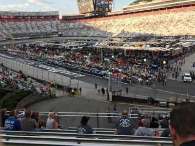 Bristol Motor Speedway, section: GG, row: 17, seat: 8
