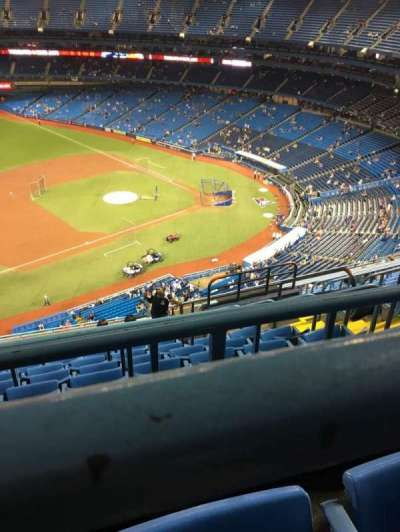 Rogers Centre, section: 532L, row: 16, seat: 106