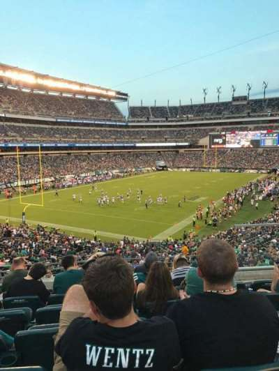 Lincoln Financial Field, section: 132, row: 41, seat: 5