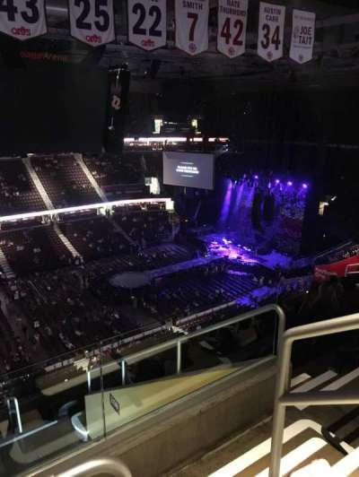 Quicken Loans Arena, section: 207, row: 11, seat: 18