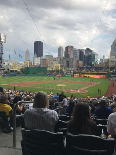 PNC Park, section: 117, row: Z, seat: 32