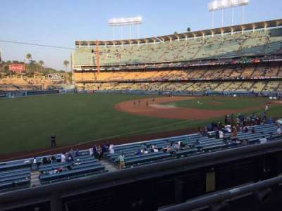 Dodger Stadium, section: 151LG, row: B, seat: 7