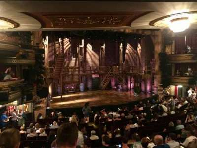 Richard Rodgers Theatre, section: Orchestra Left, row: R, seat: 17-19