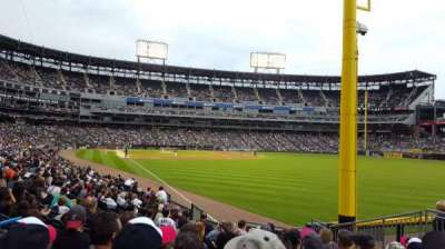 Guaranteed Rate Field, section: 109, row: 16, seat: 6