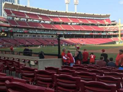 Great American Ball Park, section: 132, row: I , seat: 11