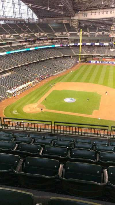 Miller Park, section: 415, row: 13, seat: 14