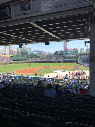 Wrigley Field, section: 216, row: 16, seat: 5